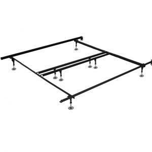 Base de métal standard très grand lit / metal bed frame king