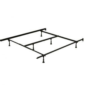 Base de métal standard grand lit-très grand lit / metal bed frame queen-king