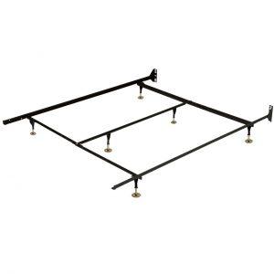 Base de métal standard simple-grand lit / metal bed frame twin-queen